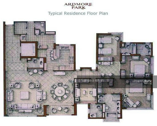 Ardmore Park 11 Ardmore Park 4 Bedrooms 2885 Sqft Condos Apartments For Sale By Samina Khan S 9 000 000 19287921