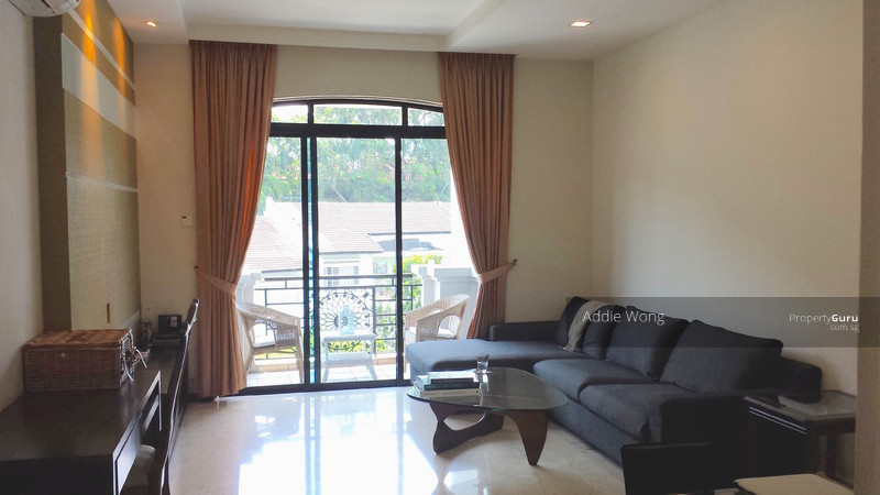 Living Room with Attached Balcony