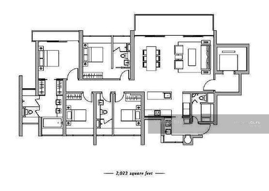 Euro-Asia Park, 25 Woodleigh Close, 4 Bedrooms, 1550 Sqft ...