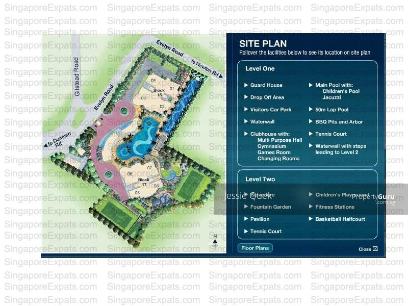 Residences @ Evelyn, 17 Evelyn Road, 2 Bedrooms, 1109 Sqft ...