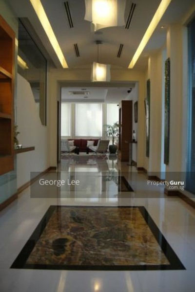 Grand entrance to living area