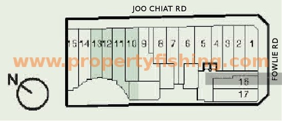 Sycamore tree 2 fowlie road 1 bedroom 420 sqft for Floor plans 80 marine parade