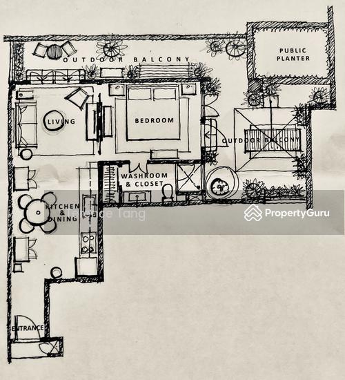 Apartments For Rent Under 1000 Near Me: Craig Place, 20 Craig Road, 1 Bedroom, 1000 Sqft