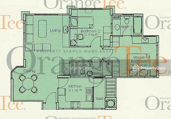 Estella Gardens 21 27 Flora Road 2 Bedrooms 936 Sqft Condos Apartments For Rent By Julynn Ong S 2 000 Mo 20154108