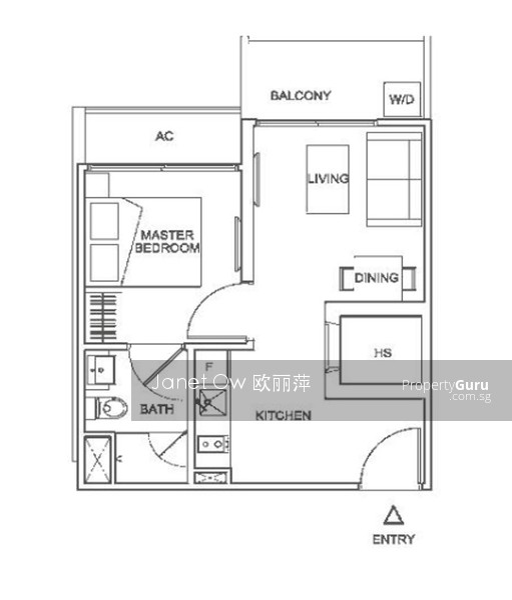 10 Shelford 10 Shelford Road 1 Bedroom 452 Sqft
