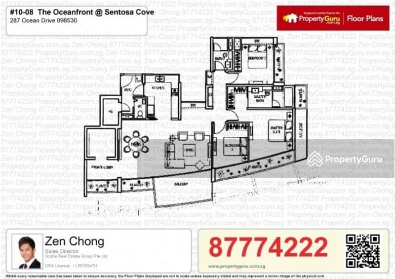 The oceanfront sentosa cove 295 ocean drive 3 bedrooms for 1500 ocean drive floor plans