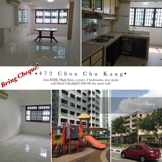 472 Choa Chu Kang Avenue 3 472 Choa Chu Kang Avenue 3 4 Bedrooms 1291 Sqft Hdb Apartments