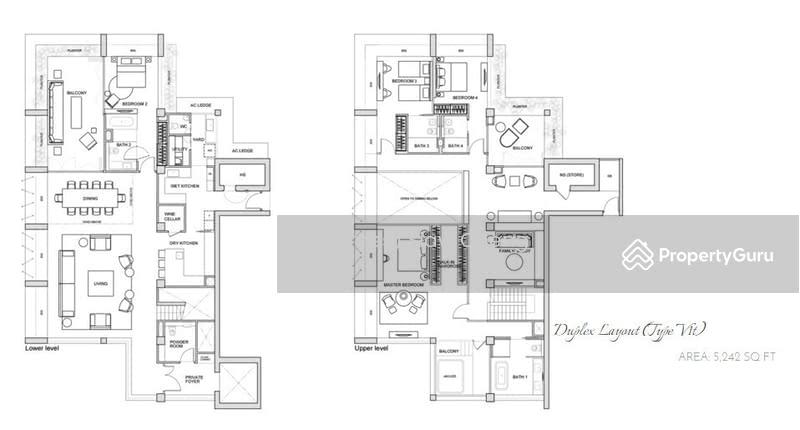 Le Nouvel Ardmore, 1A Ardmore Park, 4 Bedrooms, 5242 Sqft ...