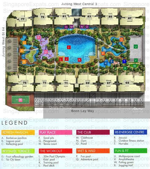 The centris 65 jurong west central 3 2 bedrooms 1100 for Apartment design guide sepp 65
