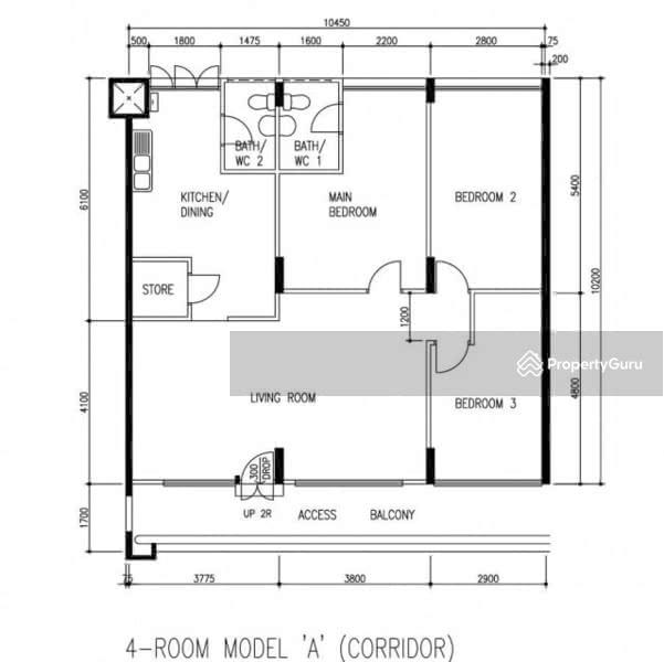 140 Bishan Street 12 140 Bishan Street 12 3 Bedrooms