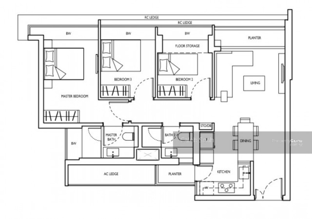 D'nest Floor Plans