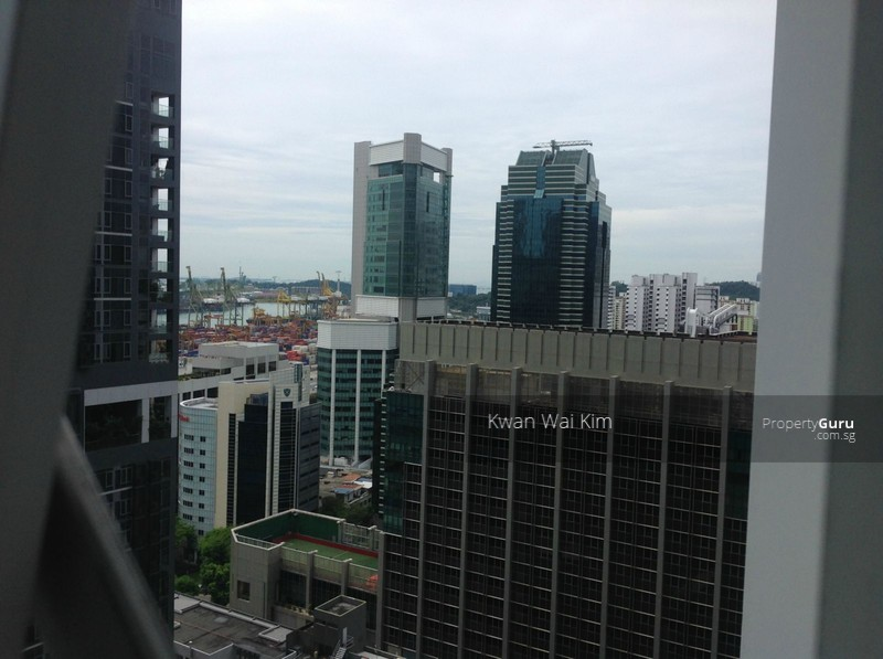 Tilted View From Living
