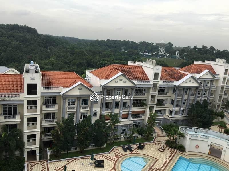 greenery/ pool view