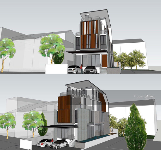 ★Brand New★ 3 Storey+Attic Modern Facade Bungalow!, 168