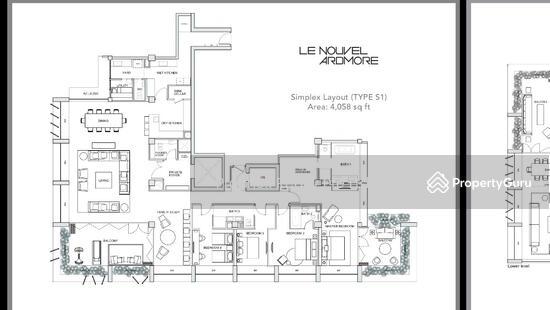 Le Nouvel Ardmore, 1A Ardmore Park, 4 Bedrooms, 4004 Sqft ...