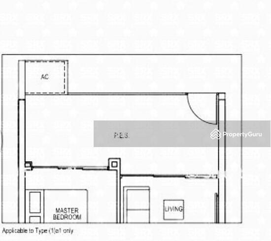 Bartley Ridge, 44 Mount Vernon Road, 1 Bedroom, 548 Sqft