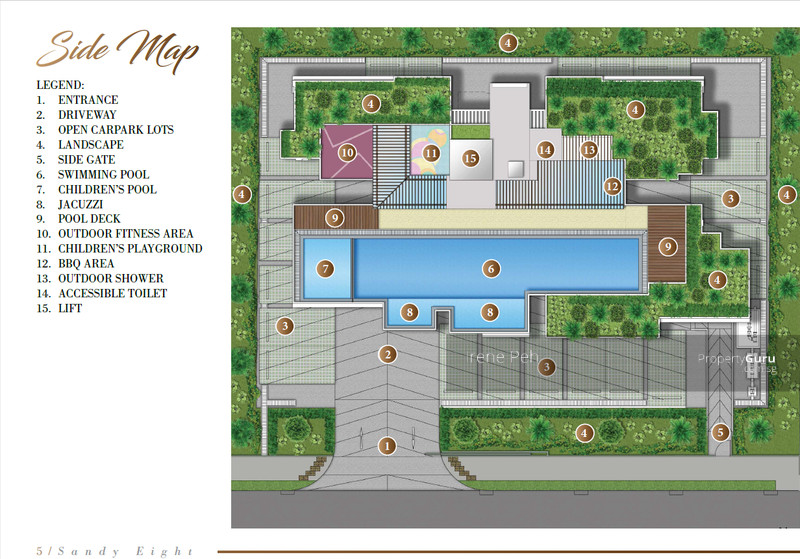 Sandy 8 1 bedroom 506 sqft condominiums apartments and for Floor plans 80 marine parade