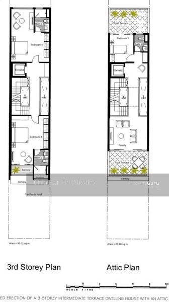 Brand New 3 5 Storey Terrace With Lift Onan Road 5 Bedrooms 3666