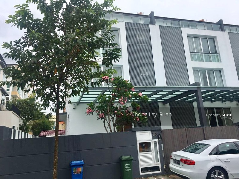 Modern 3 1 2 storey inter terrace house with excellent for 3 storey terrace house