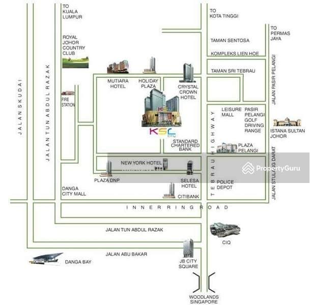 D Esplanade Residence Ksl City Johore Bahru Jalan Dato