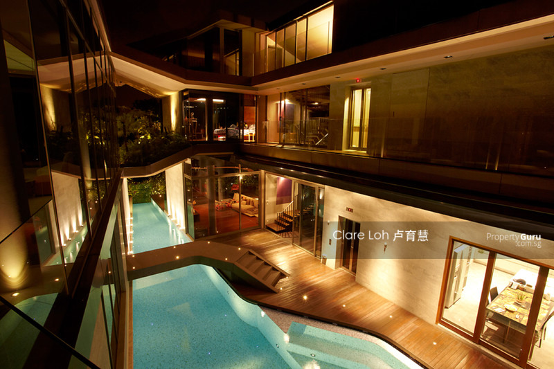 For Sale - Stunning Sentosa Cove Way Bungalow With Built In Lift and Basement Car Park For Sale