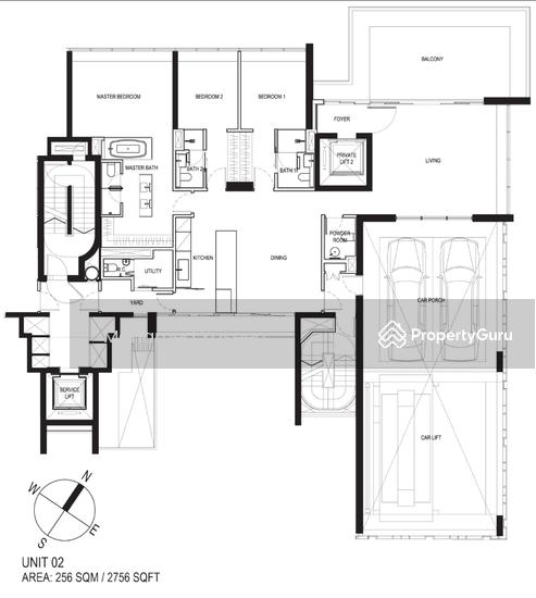 Reignwood Hamilton Scotts, 37 Scotts Road, 3 Bedrooms