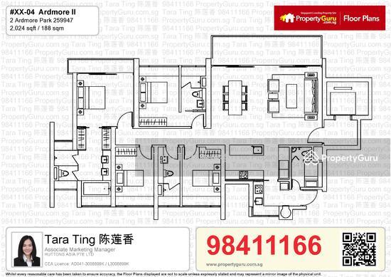 Ardmore Ii 2 Ardmore Park 4 Bedrooms 2024 Sqft Condos Apartments For Sale By Tara Ting 陈莲香 S 5 600 000 21275152
