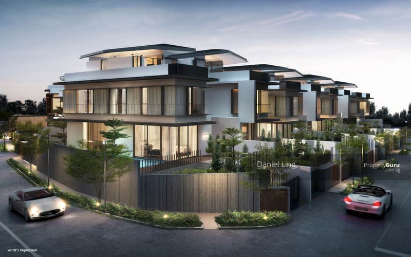 Developer Appointed, Brand New Luxury BUNGALOW with Home Lift & Swimming Pool @ one Tree Hill #102285845