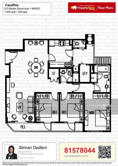 Casafina 211 Bedok South Ave 1 3 Bedrooms 1378 Sqft Condos Apartments For Sale By Simran Dadlani S 1 280 000 21505304