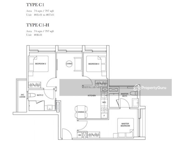 3 Bedroom Apartments Near Me Under 1 000: 3 Bedrooms Dual Key Unit Near Paya Lebar MRT, 35 Geylang