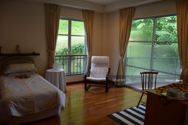 Rooms with open greenery view