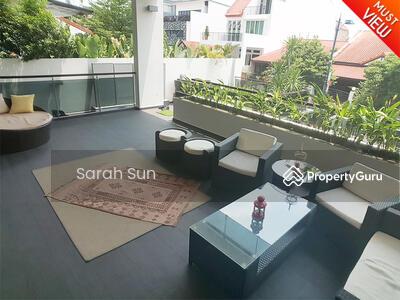 For Rent - Serangoon Garden Estate ★ Modern With Pool Semi-D ★