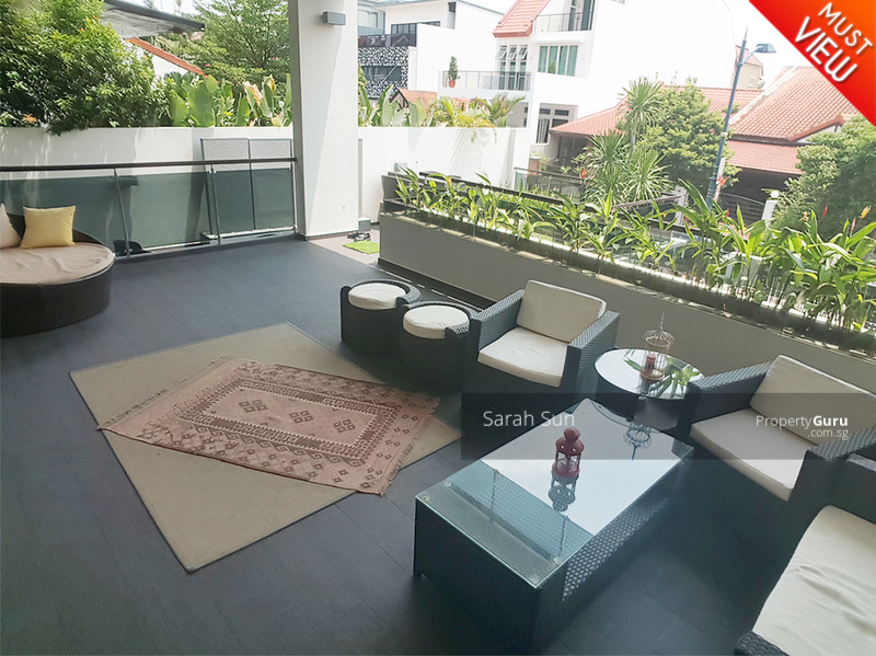 Serangoon Garden Estate ★ Modern With Pool Semi-D ★ #107890017