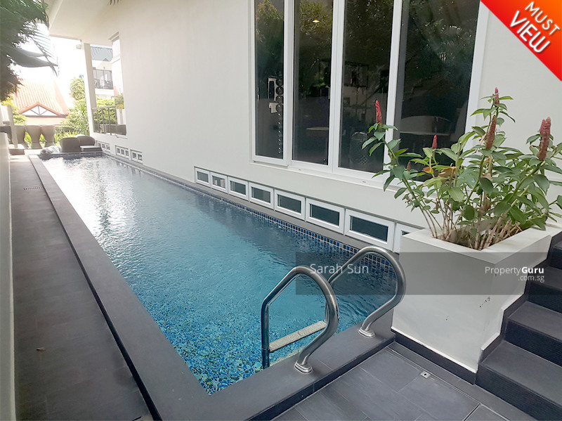 Serangoon Garden Estate ★ Modern With Pool Semi-D ★ #107890019