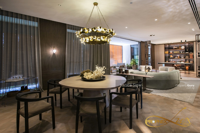 Extremely spacious dining living room