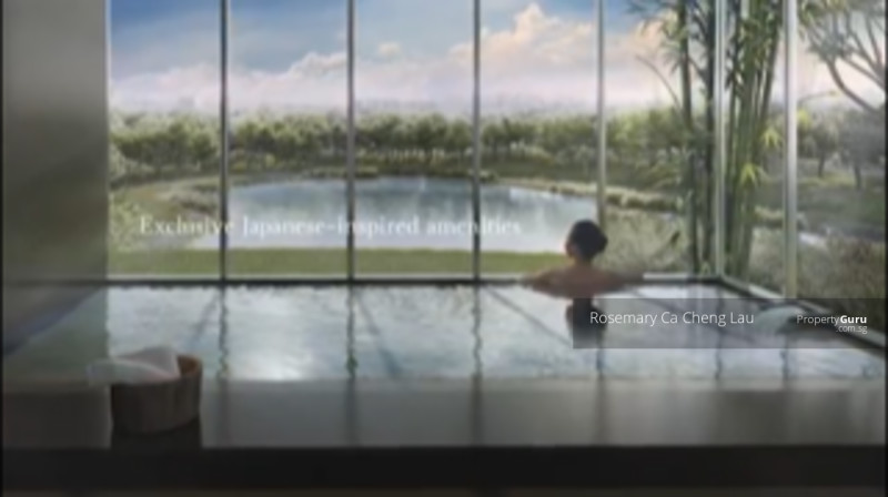 Japanese Design - Onsen facility in Condo
