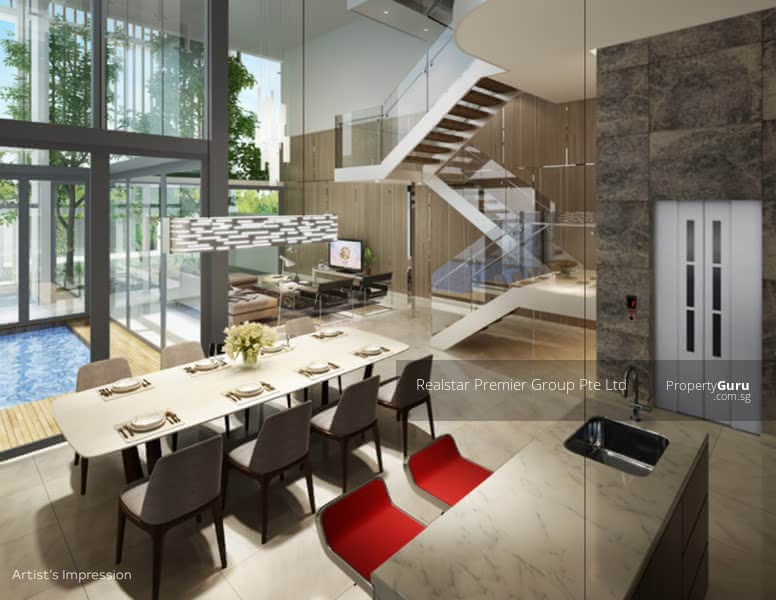 For Sale - SOLD ONE! Luxury of Space! Brand New 3. 5sty Semi Detached at District 16!