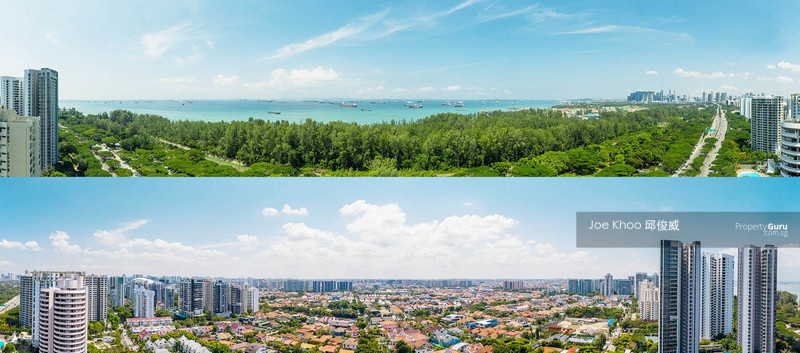 Breathtaking Seaview and Landed View