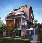 Modern Luxurious Brand New 2. 5 Storey Semi-D With Basement + Pool   @ Tuan Sing Park