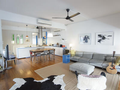 For Sale - Tiong Bahru Utterly Renovated Tucked Away 2 Bed Top Floor