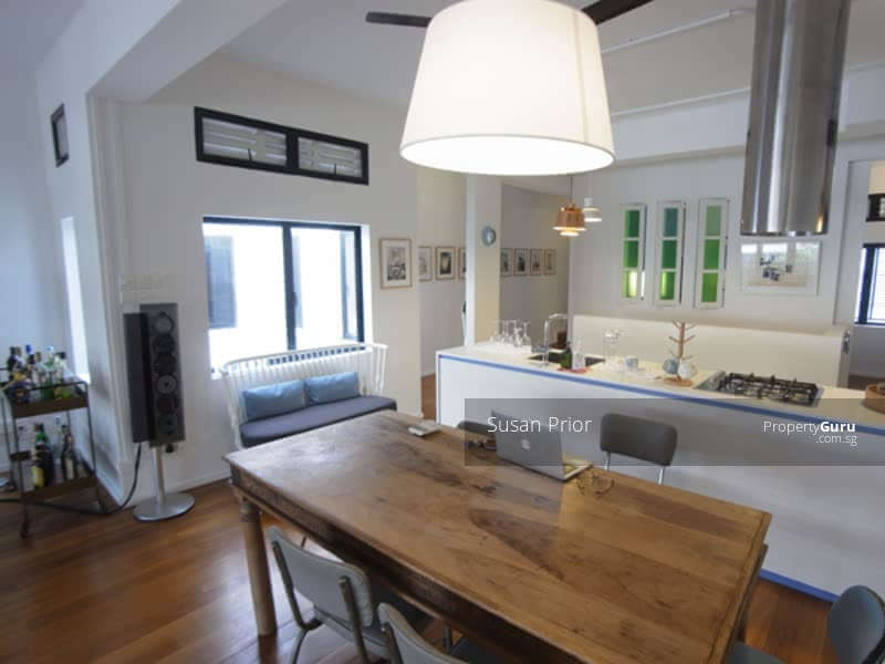 Tiong Bahru Utterly Renovated Tucked Away 2 Bed Top Floor #120990295
