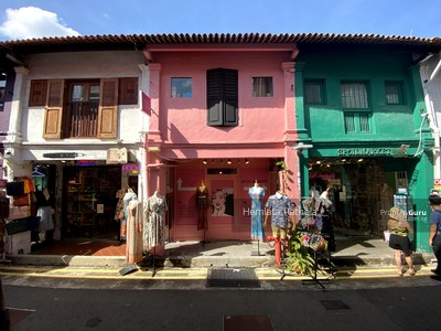 For Rent - HAJI LANE COLLECTION suitable for young trendy concept prime space 400 to 2400 sf retail co-working