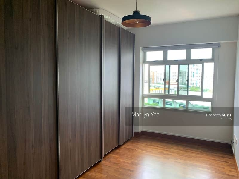 Bedroom 3 for rent with wardrobe and brand new bed