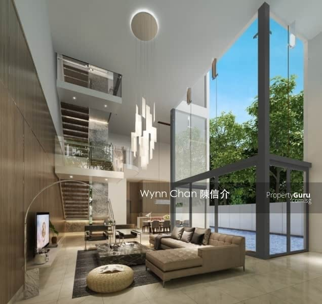 ⭐ WLD ⭐ New Pair Semi-Detach D16 Built by Reputable Group with pool, home lift Bedok Avenue #130377337