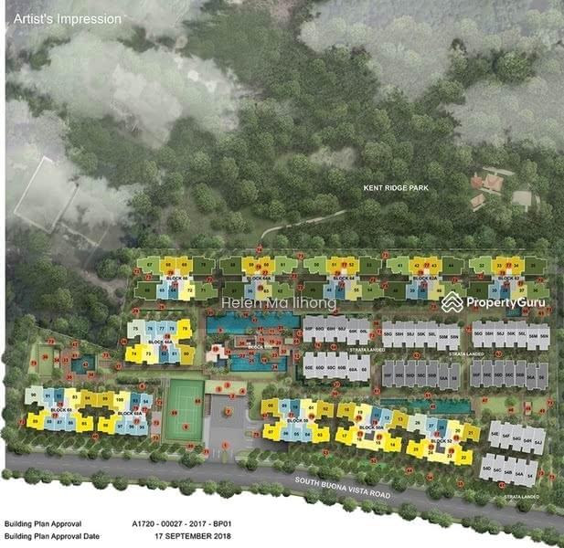 Kent Ridge Hill Residences #124164385