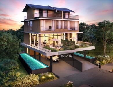 For Sale - Jalan Daud Brand New 3. 5 storeys Semi D with attic/pool/ lift for sale