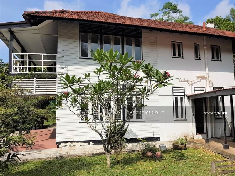 Colonial Black and White Bungalow; Queen's Ave; Sembawang Park & Coastal Walk #126047805