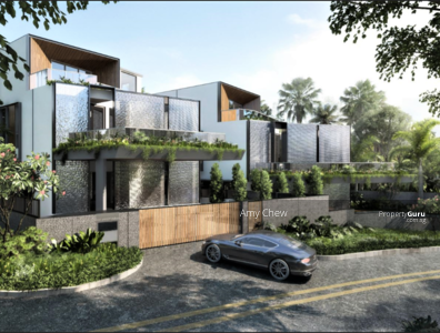 For Sale - Landmark Piece Of Art! ! Luxurious Brand New Bungalow with Glass Bricks Facade,  Pool and Basement