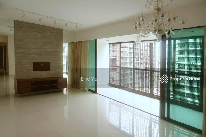 Balcony with beautiful aluminum sun screens