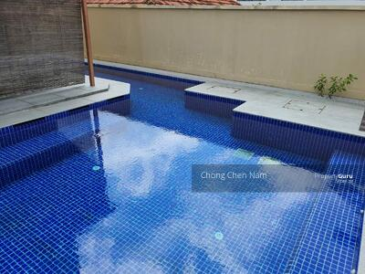 For Sale - MOUNTBATTEN GOODMAN VICINITY 2. 5 STOREY RENOVATED SEMI-D WITH POOL, 5+1. NEAR KONG HWA SCH AND MRT